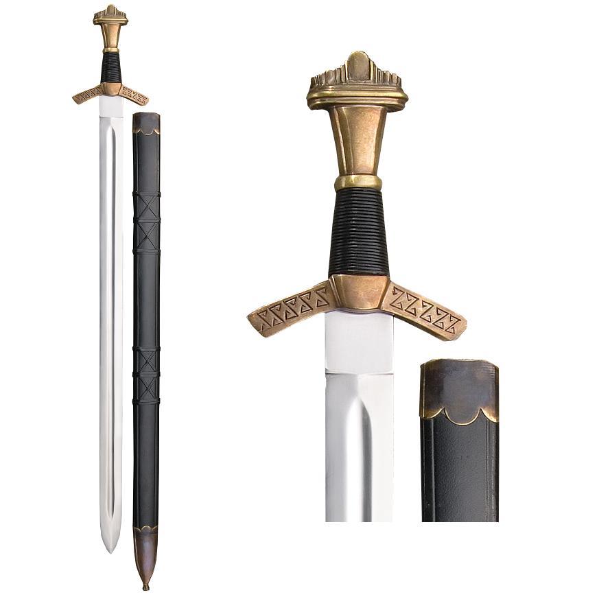Historical Excalibur Sword & Scabbard